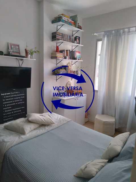 10-Segundo quarto - Excelente apartamento na Rua Ribeiro Guimarães -Tijuca, com 67m² em condomínio com ótima infraestrutura, situado a menos de 5 min andando do shopping Tijuca. Monitoramento por câmeras e portaria 24hs. - 1388 - 12