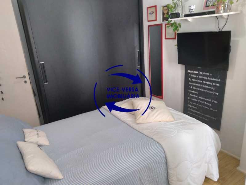 12-Segundo quarto - Excelente apartamento na Rua Ribeiro Guimarães -Tijuca, com 67m² em condomínio com ótima infraestrutura, situado a menos de 5 min andando do shopping Tijuca. Monitoramento por câmeras e portaria 24hs. - 1388 - 14