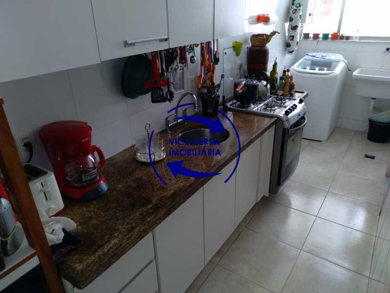 16-Cozinha - Excelente apartamento na Rua Ribeiro Guimarães -Tijuca, com 67m² em condomínio com ótima infraestrutura, situado a menos de 5 min andando do shopping Tijuca. Monitoramento por câmeras e portaria 24hs. - 1388 - 17