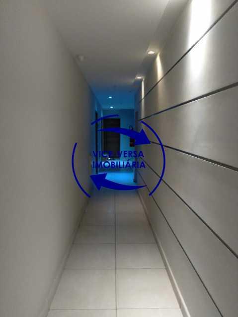 18-Corredor - Excelente apartamento na Rua Ribeiro Guimarães -Tijuca, com 67m² em condomínio com ótima infraestrutura, situado a menos de 5 min andando do shopping Tijuca. Monitoramento por câmeras e portaria 24hs. - 1388 - 20