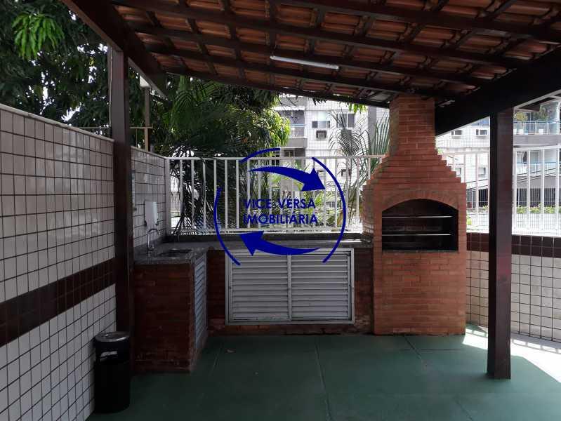25-Churrasqueira - Excelente apartamento na Rua Ribeiro Guimarães -Tijuca, com 67m² em condomínio com ótima infraestrutura, situado a menos de 5 min andando do shopping Tijuca. Monitoramento por câmeras e portaria 24hs. - 1388 - 21