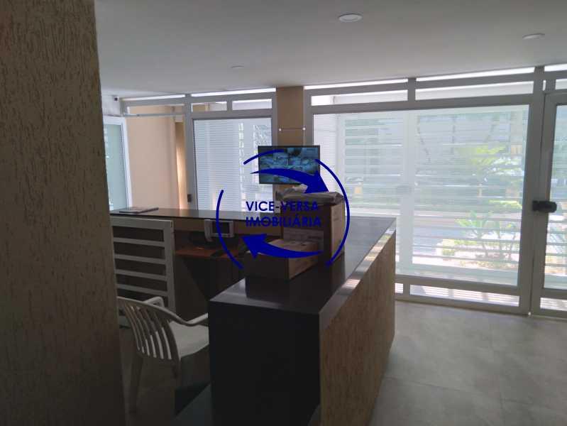 30-Portaria - Excelente apartamento na Rua Ribeiro Guimarães -Tijuca, com 67m² em condomínio com ótima infraestrutura, situado a menos de 5 min andando do shopping Tijuca. Monitoramento por câmeras e portaria 24hs. - 1388 - 31
