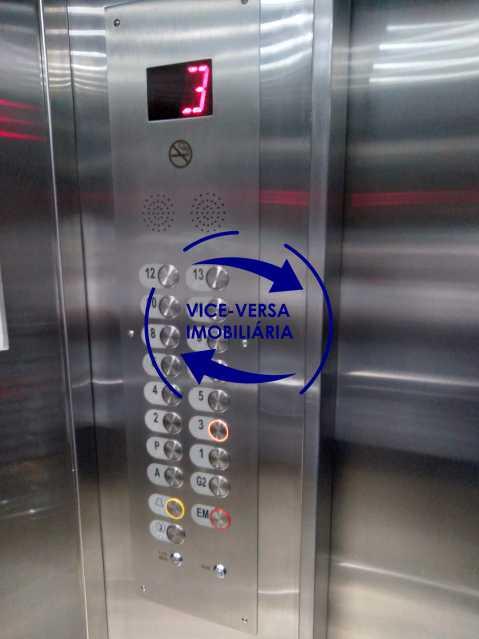 28-Elevador - Excelente apartamento na Rua Ribeiro Guimarães -Tijuca, com 67m² em condomínio com ótima infraestrutura, situado a menos de 5 min andando do shopping Tijuca. Monitoramento por câmeras e portaria 24hs. - 1388 - 29