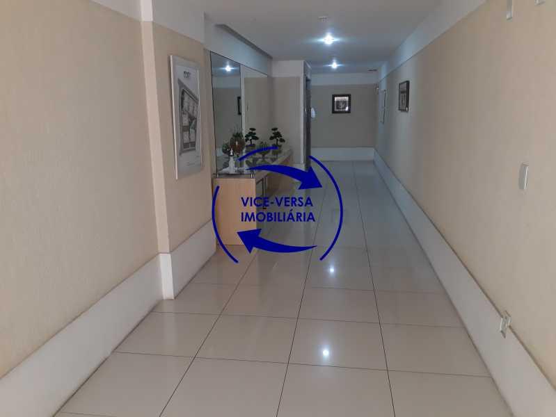 Hall - Apartamento À venda no Pechincha - 69m², sala para 2 ambientes, varanda, 3 quartos, sendo 1 menor adequado para escritório, 2 banheiros, vaga de garagem, infraestrutura completa! - 1396 - 4