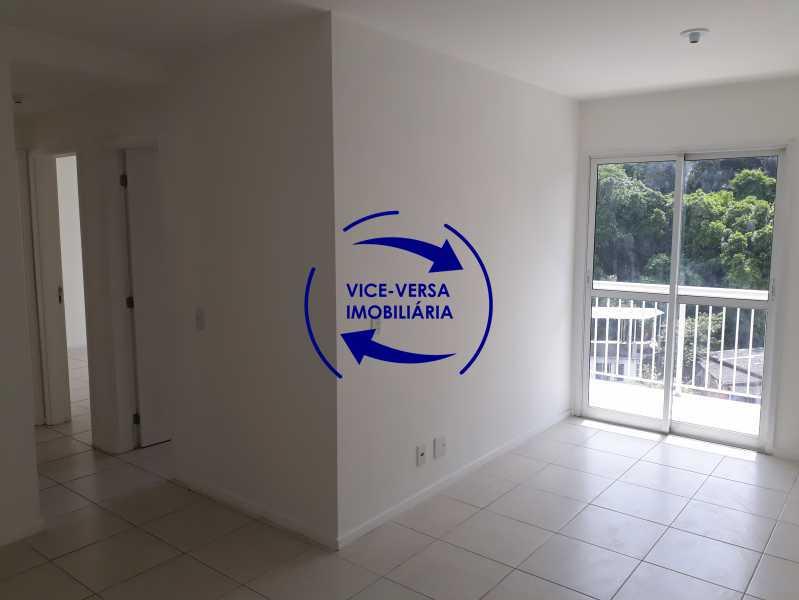 Sala - Apartamento À venda no Pechincha - 69m², sala para 2 ambientes, varanda, 3 quartos, sendo 1 menor adequado para escritório, 2 banheiros, vaga de garagem, infraestrutura completa! - 1396 - 5