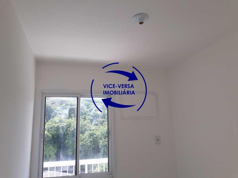 Quarto 1 - Apartamento À venda no Pechincha - 69m², sala para 2 ambientes, varanda, 3 quartos, sendo 1 menor adequado para escritório, 2 banheiros, vaga de garagem, infraestrutura completa! - 1396 - 8