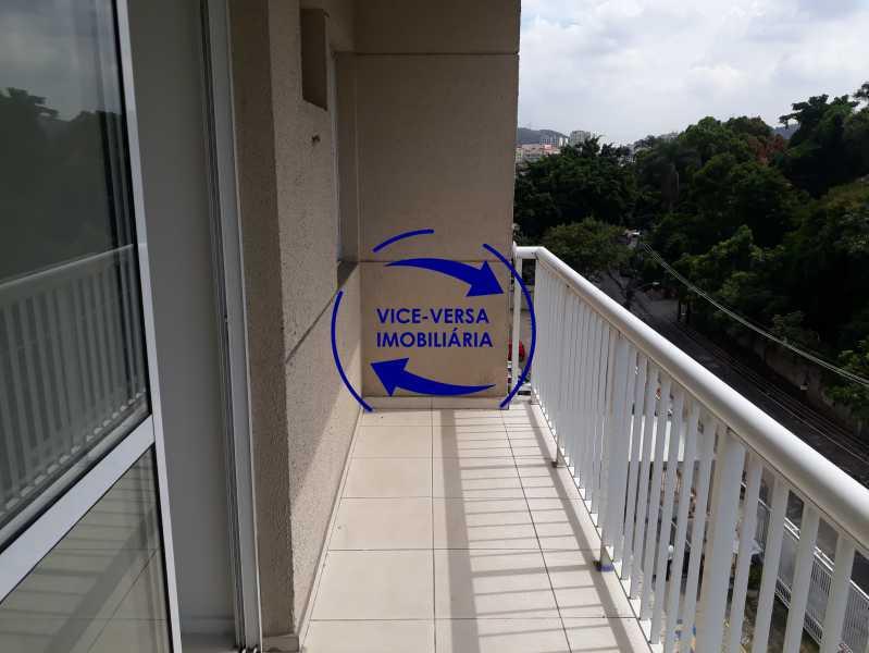 Varanda - Apartamento À venda no Pechincha - 69m², sala para 2 ambientes, varanda, 3 quartos, sendo 1 menor adequado para escritório, 2 banheiros, vaga de garagem, infraestrutura completa! - 1396 - 11
