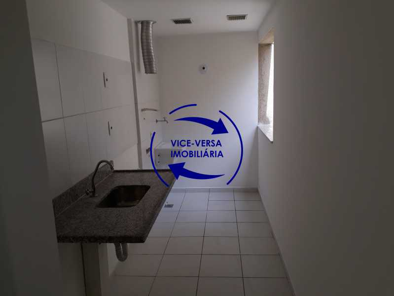 Área de serviço - Apartamento À venda no Pechincha - 69m², sala para 2 ambientes, varanda, 3 quartos, sendo 1 menor adequado para escritório, 2 banheiros, vaga de garagem, infraestrutura completa! - 1396 - 13