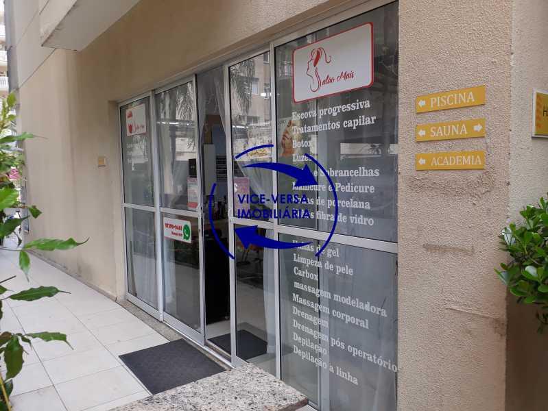Salão de beleza / Barbearia - Apartamento À venda no Pechincha - 69m², sala para 2 ambientes, varanda, 3 quartos, sendo 1 menor adequado para escritório, 2 banheiros, vaga de garagem, infraestrutura completa! - 1396 - 14