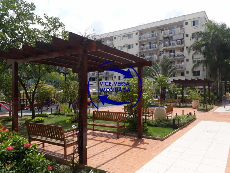 Praça central - Apartamento À venda no Pechincha - 69m², sala para 2 ambientes, varanda, 3 quartos, sendo 1 menor adequado para escritório, 2 banheiros, vaga de garagem, infraestrutura completa! - 1396 - 28