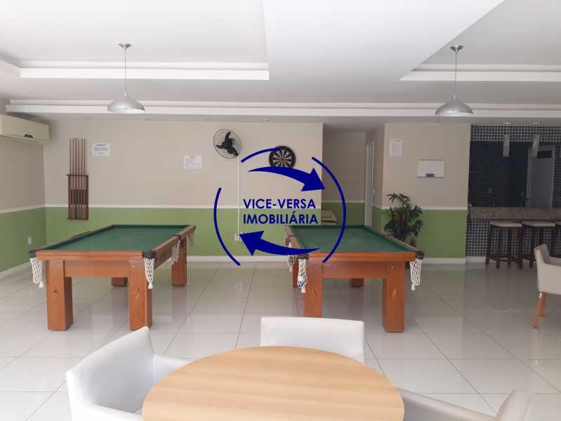 Sala de jogos dos adultos - Apartamento À venda no Pechincha - 69m², sala para 2 ambientes, varanda, 3 quartos, sendo 1 menor adequado para escritório, 2 banheiros, vaga de garagem, infraestrutura completa! - 1396 - 23