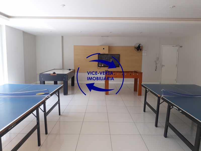 Sala de jogos teen/ Lan House - Apartamento À venda no Pechincha - 69m², sala para 2 ambientes, varanda, 3 quartos, sendo 1 menor adequado para escritório, 2 banheiros, vaga de garagem, infraestrutura completa! - 1396 - 22