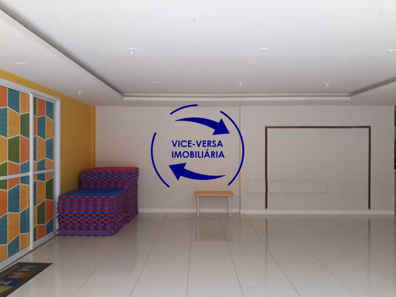 1 - Apartamento À venda no Pechincha - 69m², sala para 2 ambientes, varanda, 3 quartos, sendo 1 menor adequado para escritório, 2 banheiros, vaga de garagem, infraestrutura completa! - 1396 - 25