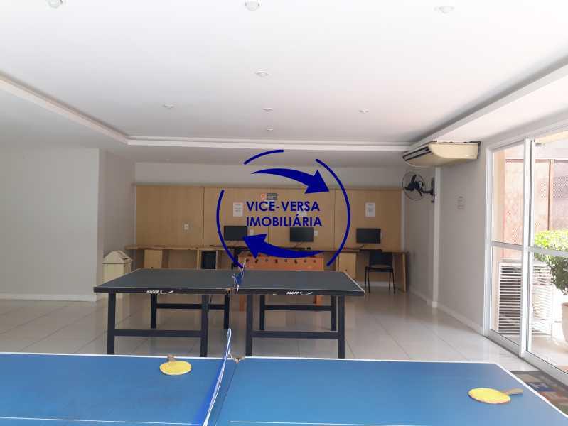 Sala de jogos teen/ Lan House - Apartamento À venda no Pechincha - 69m², sala para 2 ambientes, varanda, 3 quartos, sendo 1 menor adequado para escritório, 2 banheiros, vaga de garagem, infraestrutura completa! - 1396 - 21