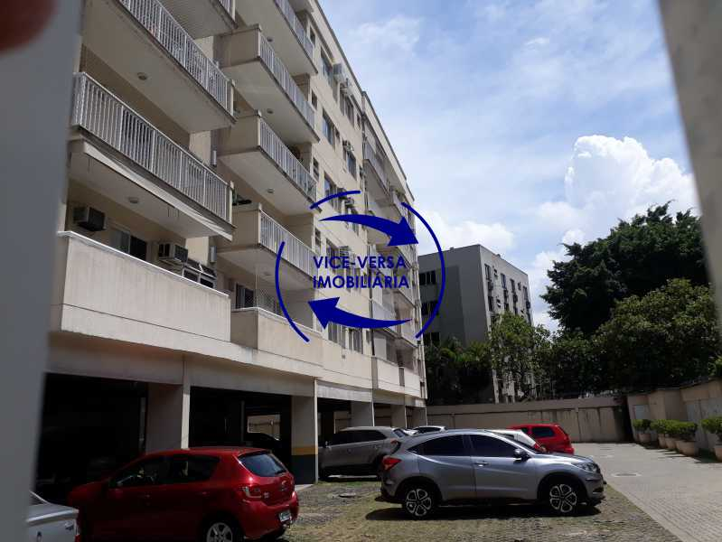 Garagem - Apartamento À venda no Pechincha - 69m², sala para 2 ambientes, varanda, 3 quartos, sendo 1 menor adequado para escritório, 2 banheiros, vaga de garagem, infraestrutura completa! - 1396 - 31