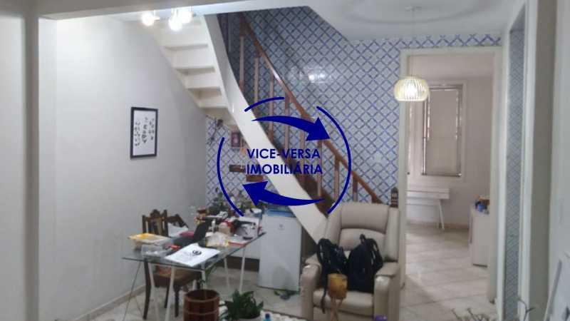sala - Ampla casa com piscina, frente de rua, com 413 m² construído, no Méier prox. a rua Hermengarda. - 1400 - 5