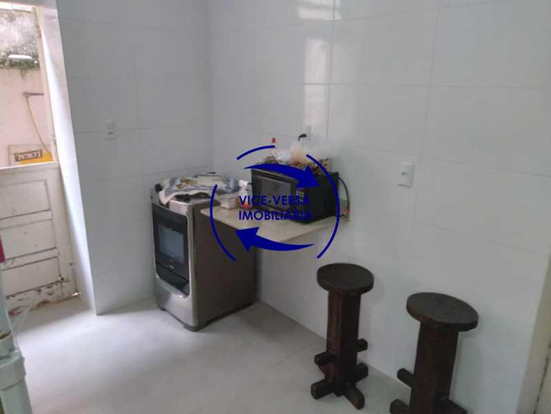 Cozinha - Ampla casa com piscina, frente de rua, com 413 m² construído, no Méier prox. a rua Hermengarda. - 1400 - 15