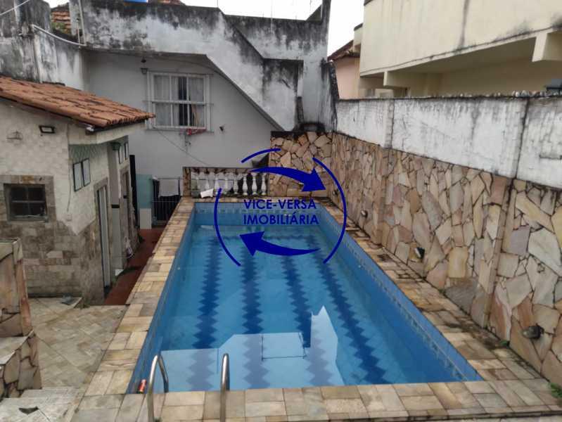 Piscina - Ampla casa com piscina, frente de rua, com 413 m² construído, no Méier prox. a rua Hermengarda. - 1400 - 26