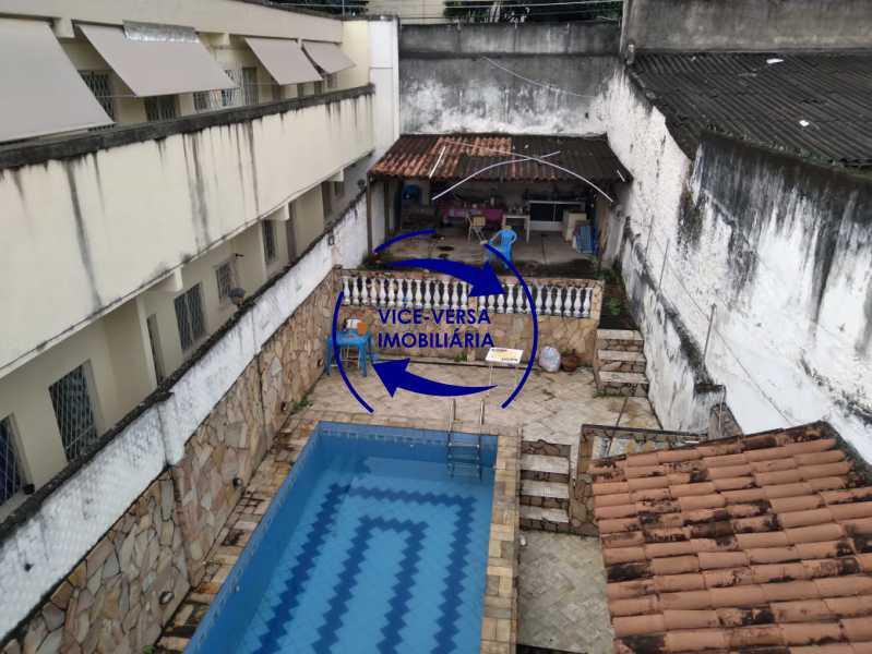 Piscina - Ampla casa com piscina, frente de rua, com 413 m² construído, no Méier prox. a rua Hermengarda. - 1400 - 28