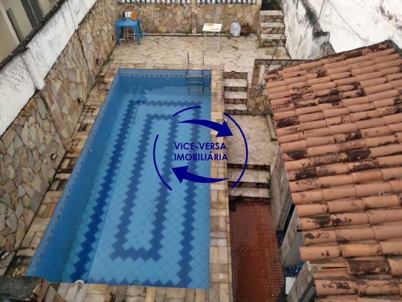 Piscina - Ampla casa com piscina, frente de rua, com 413 m² construído, no Méier prox. a rua Hermengarda. - 1400 - 29