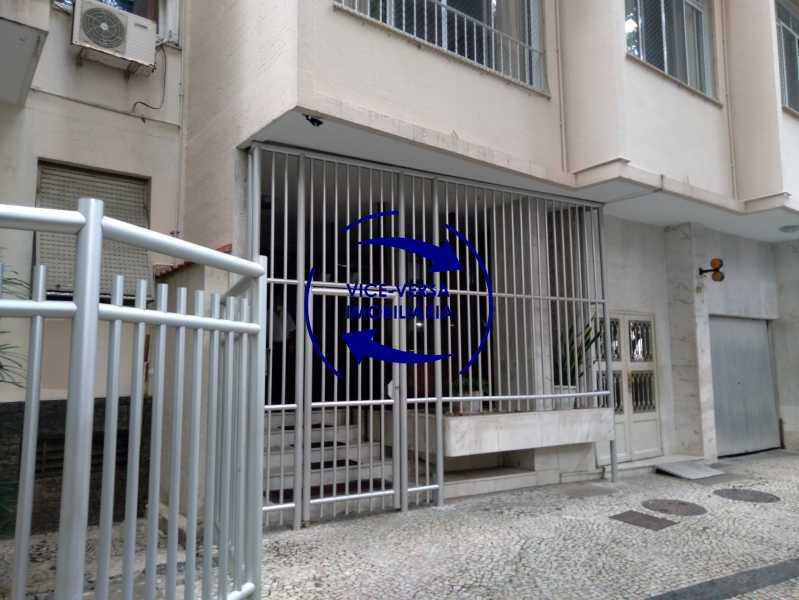 Fachada - Belíssimo apartamento À venda na Rua Leopoldo Miguez - Copacabana - 110m², 3 amplos quartos repletos de armários, garagem, 350m da praia e 400m do metrô Cantagalo. - 1399 - 4