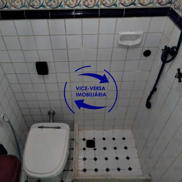 Banheiro 2 - Belíssimo apartamento À venda na Rua Leopoldo Miguez - Copacabana - 110m², 3 amplos quartos repletos de armários, garagem, 350m da praia e 400m do metrô Cantagalo. - 1399 - 20