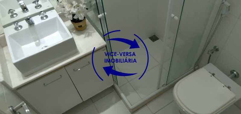 Banheiro 2 - Excelente apartamento com 97m² em rua fechada com guarita de segurança, na rua Jorge Rudge. - 1405 - 22