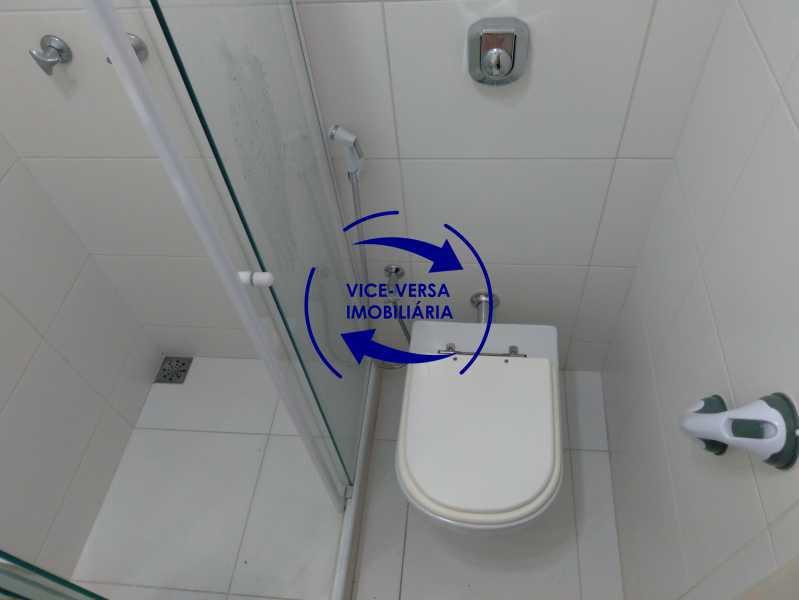 Banheiro 2 - Excelente apartamento com 97m² em rua fechada com guarita de segurança, na rua Jorge Rudge. - 1405 - 23