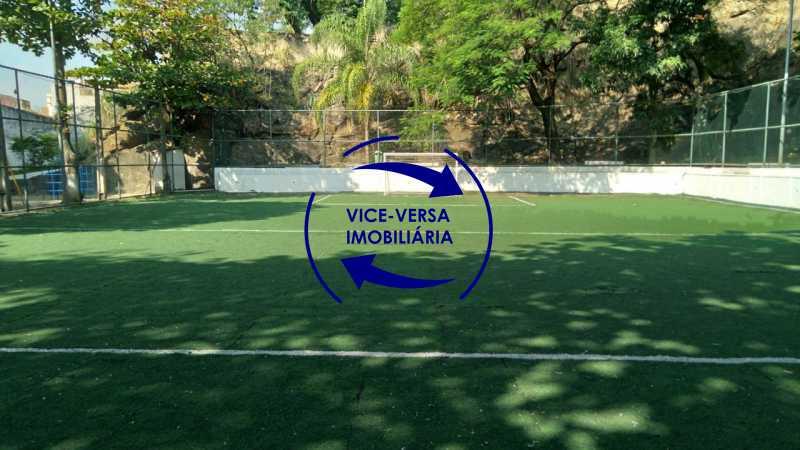 Campo de Futebol - Excelente apartamento com 97m² em rua fechada com guarita de segurança, na rua Jorge Rudge. - 1405 - 30