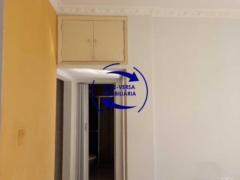 9 - Ótimo apartamento na Tijuca com 36m², Trecho inicial da Rua General Roca, antes da Rua dos Araújos, a 10 minutos À pé da Praça Saens Pena. - 1408 - 10