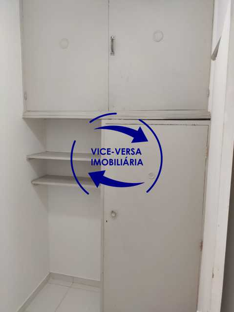 Dependências de empregada - Excelente apartamento na Rua Maestro Vila Lobos, com 93m² (sala, 3quartos, dependências, garagem), super bem localizado, pertinho da praça Afonso Pena. - 1413 - 27