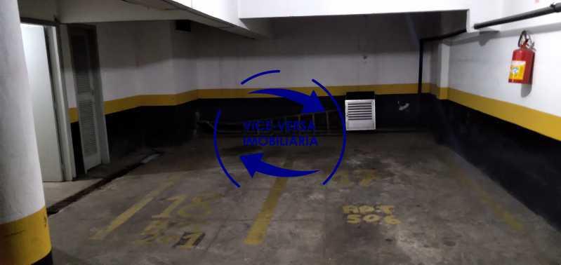 Garagem - Excelente apartamento na Rua Maestro Vila Lobos, com 93m² (sala, 3quartos, dependências, garagem), super bem localizado, pertinho da praça Afonso Pena. - 1413 - 28