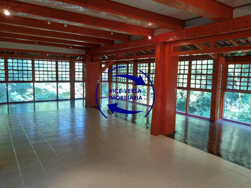 Sala - Gávea, parte nobre, Rua João Borges, casa com 308m² em condomínio fechado, em meio ao verde. - 1377-A - 8