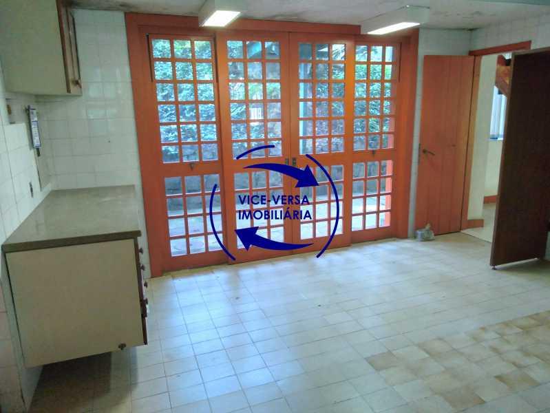 Cozinha - Gávea, parte nobre, Rua João Borges, casa com 308m² em condomínio fechado, em meio ao verde. - 1377-A - 14