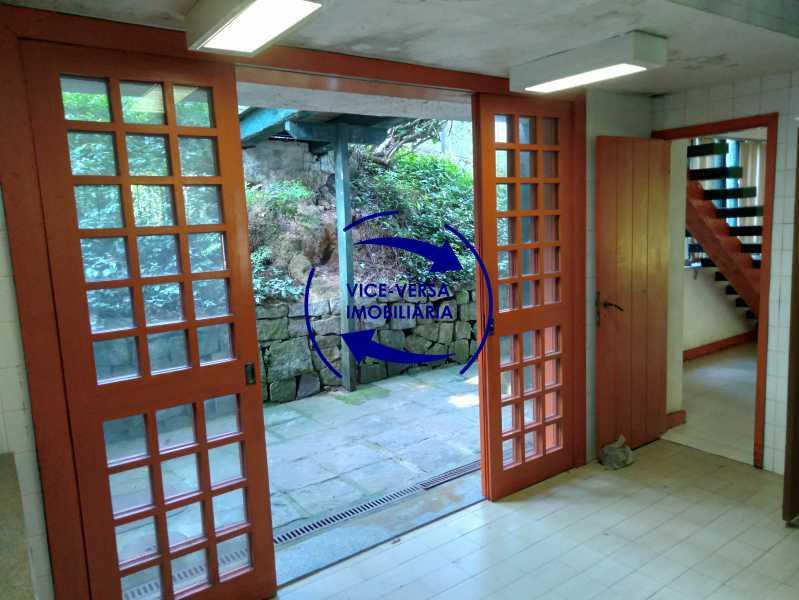 Cozinha - Gávea, parte nobre, Rua João Borges, casa com 308m² em condomínio fechado, em meio ao verde. - 1377-A - 15
