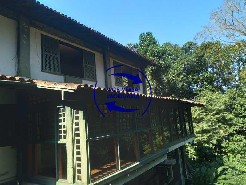 Vista interna - Gávea, parte nobre, Rua João Borges, casa com 308m² em condomínio fechado, em meio ao verde. - 1377-A - 16