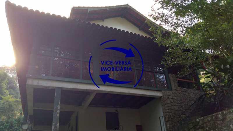 Vista interna - Gávea, parte nobre, Rua João Borges, casa com 308m² em condomínio fechado, em meio ao verde. - 1377-A - 28