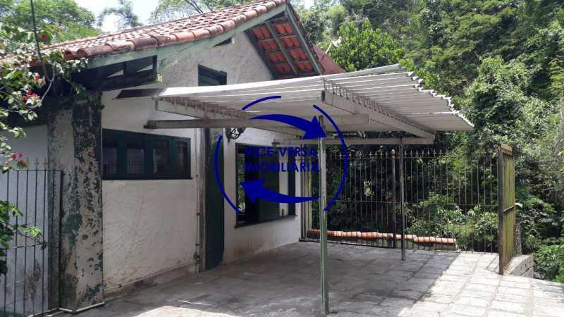 Garagem - Gávea, parte nobre, Rua João Borges, casa com 308m² em condomínio fechado, em meio ao verde. - 1377-A - 29