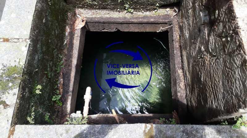Cisterna de Água da Fonte - Gávea, parte nobre, Rua João Borges, casa com 308m² em condomínio fechado, em meio ao verde. - 1377-A - 30