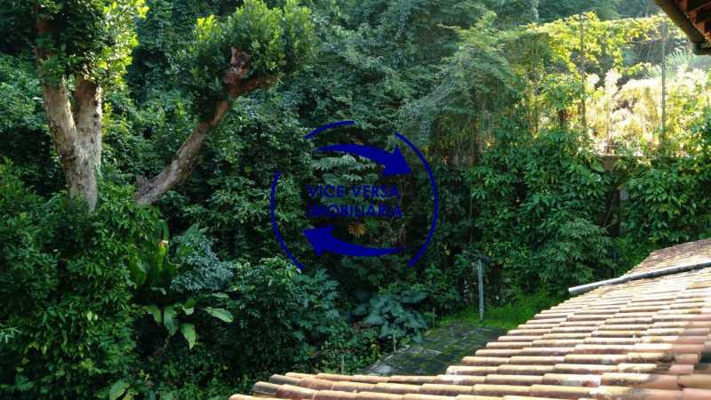 Vista - Gávea, parte nobre, Rua João Borges, casa com 308m² em condomínio fechado, em meio ao verde. - 1377-A - 21