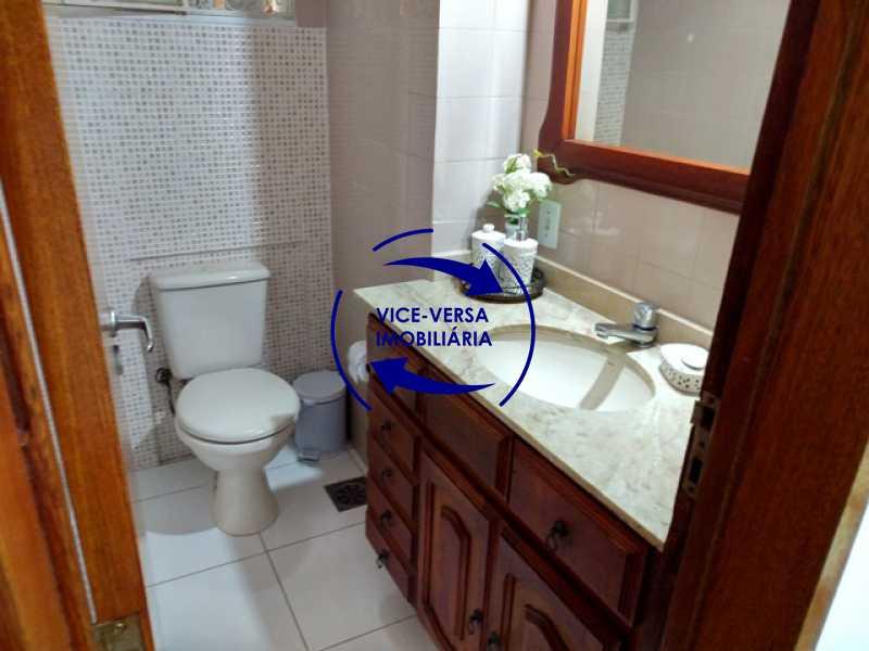 lavabo - Anil, Estrada Uruçanga, casa, condomínio fechado, 3 salas, varanda, 3 quartos (1 suíte), lavabo, piscina, churrasqueira! - 1106 - 5