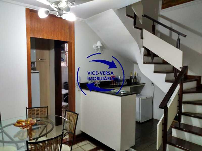 bar - Anil, Estrada Uruçanga, casa, condomínio fechado, 3 salas, varanda, 3 quartos (1 suíte), lavabo, piscina, churrasqueira! - 1106 - 7