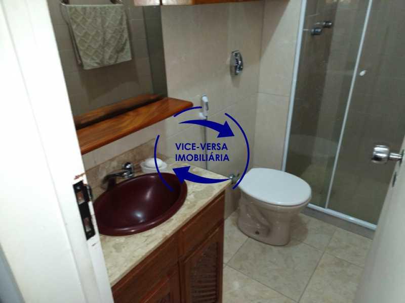 banheiro-social - Anil, Estrada Uruçanga, casa, condomínio fechado, 3 salas, varanda, 3 quartos (1 suíte), lavabo, piscina, churrasqueira! - 1106 - 22