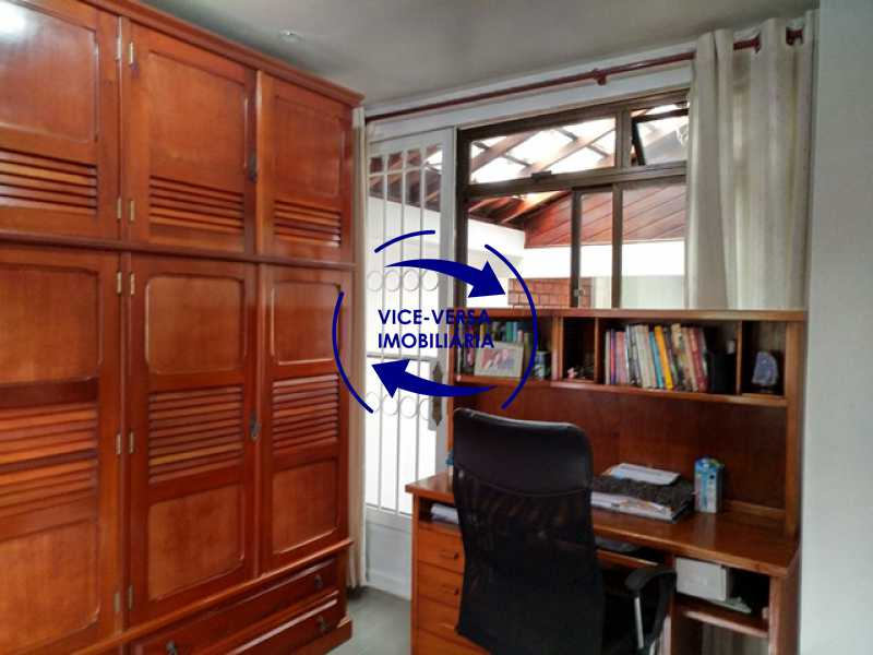 terceiro-quarto - Anil, Estrada Uruçanga, casa, condomínio fechado, 3 salas, varanda, 3 quartos (1 suíte), lavabo, piscina, churrasqueira! - 1106 - 18
