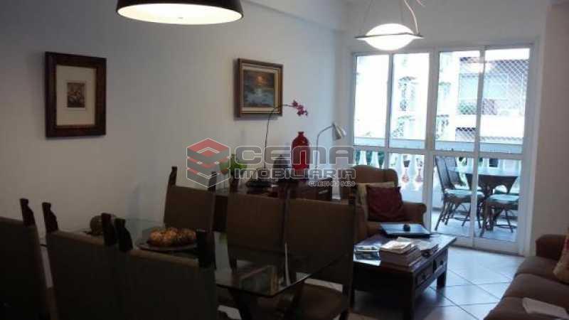 sala - Apartamento à venda Rua Desembargador Burle,Humaitá, Zona Sul RJ - R$ 1.448.000 - LAAP31246 - 3