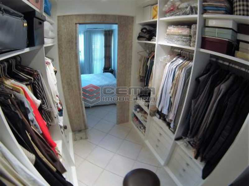 closet - Apartamento à venda Rua Desembargador Burle,Humaitá, Zona Sul RJ - R$ 1.448.000 - LAAP31246 - 18