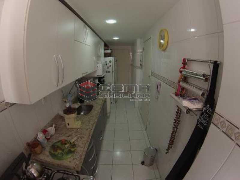 cozinha - Apartamento à venda Rua Desembargador Burle,Humaitá, Zona Sul RJ - R$ 1.448.000 - LAAP31246 - 28