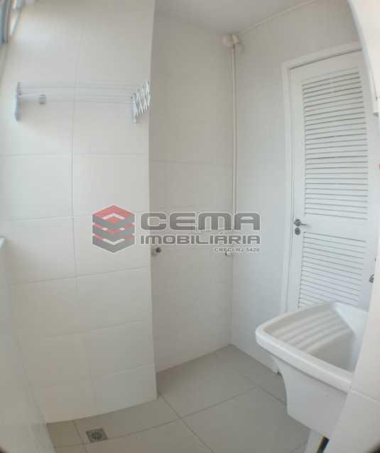 Área de serviço  - Apartamento 1 quarto para alugar Catete, Zona Sul RJ - R$ 2.700 - LAAP10907 - 20
