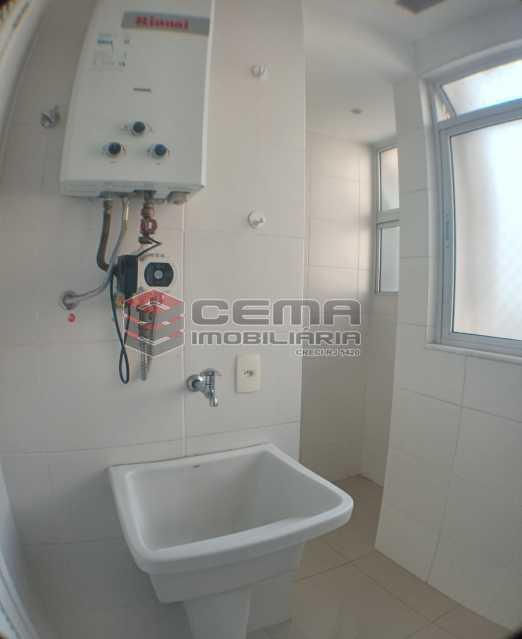 Área de serviço - Apartamento 1 quarto para alugar Catete, Zona Sul RJ - R$ 2.700 - LAAP10907 - 19