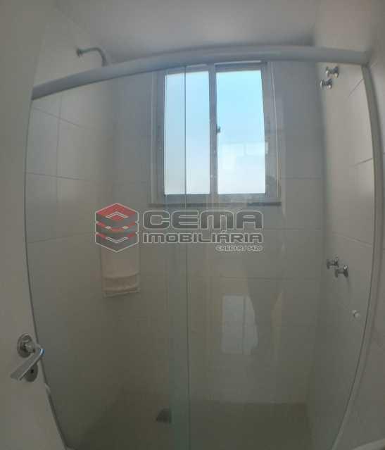 Banheiro social  - Apartamento 1 quarto para alugar Catete, Zona Sul RJ - R$ 2.700 - LAAP10907 - 18